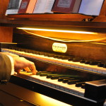 Grote Orgel - speeltafel
